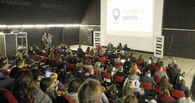Madrid alcanza su récord histórico de rodajes y apuesta por aumentarlo