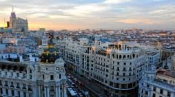 Madrid refuerza este viernes sus medidas de gestión del tráfico por la lluvia