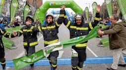 Más de cuatro mil corredores solidarios en homenaje a los Bomberos