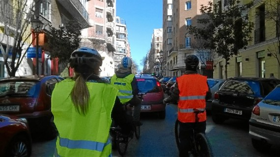Los madrileños están invitados a participar en el taller 'Circulando en bici por la ciudad'