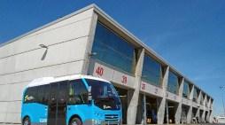 La Empresa Municipal de Transportes de Madrid prueba un nuevo minibús eléctrico
