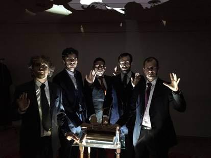 La Pequeña Compañía lleva a escena 'Corrupción en el Palacio de Justicia' en el Teatro Guindalera