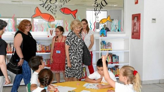 'María Lejárraga', la nueva biblioteca en Hortaleza, alberga 25.000 ejemplares
