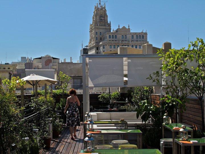 Terrazas De Madrid El ático De Las Letras Helen Te Lo Cuenta