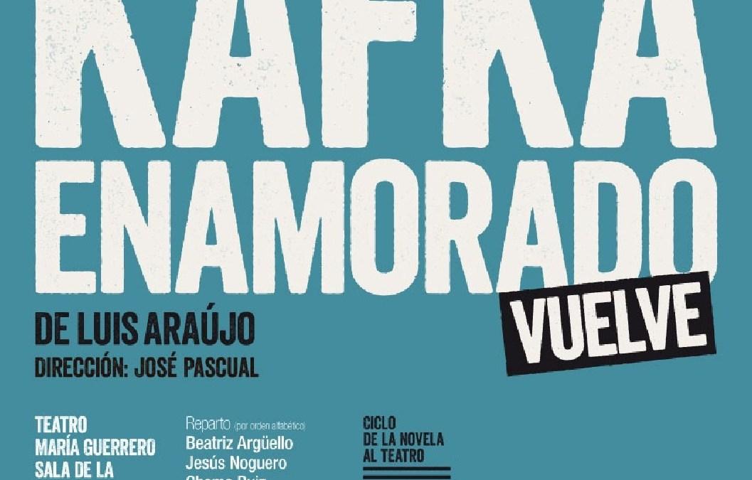 'Kafka enamorado' vuelve al Teatro María Guerrero