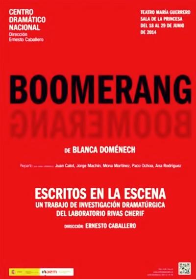 BOOMERANG de Blanca Domémech en el Teatro María Guerrero
