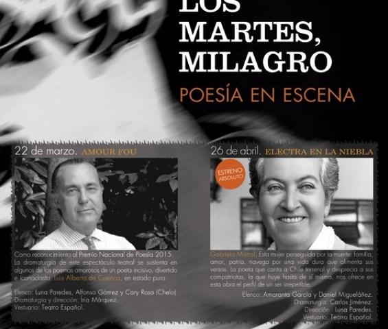 LOS MARTES, MILAGRO en el Teatro Fernán Gómez