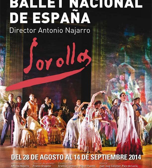 SOROLLA, Ballet Nacional de España en los Teatros del Canal