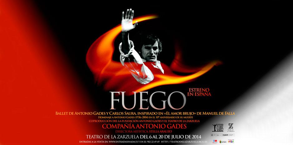FUEGO Un ballet de Antonio GADES y Carlos SAURA