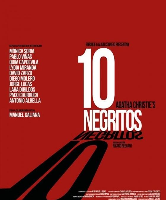10 NEGRITOS de Agatha Christie en el Teatro Muñoz Seca