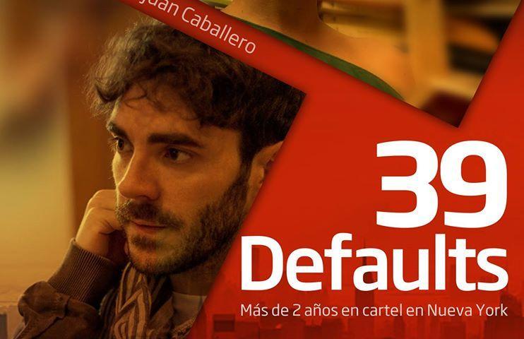 39 DEFAULTS en el Teatro Guindalera