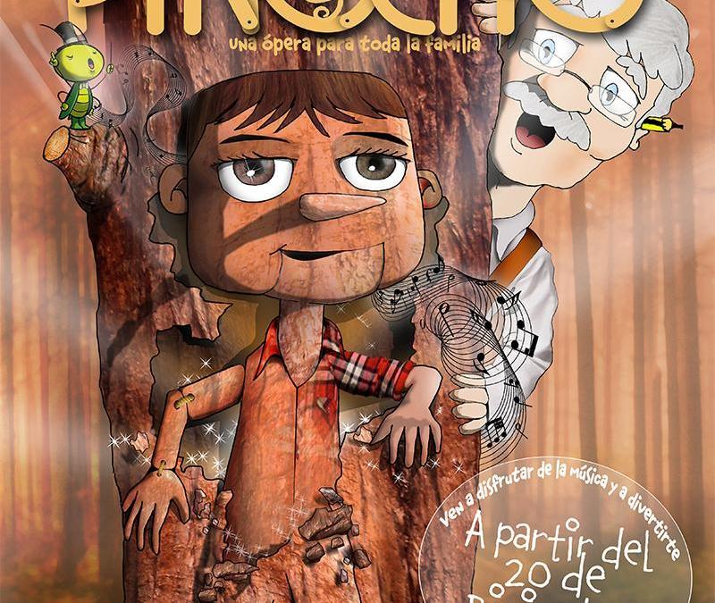 EL PEQUEÑO PINOCHO en el Teatro Bellas Artes