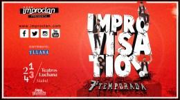 IMPROVISA TÍO!!, en los Teatros Luchana