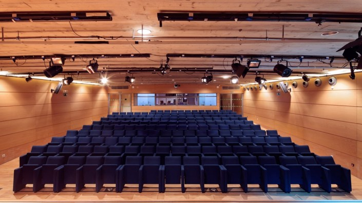 La Casa Encendida. auditorio
