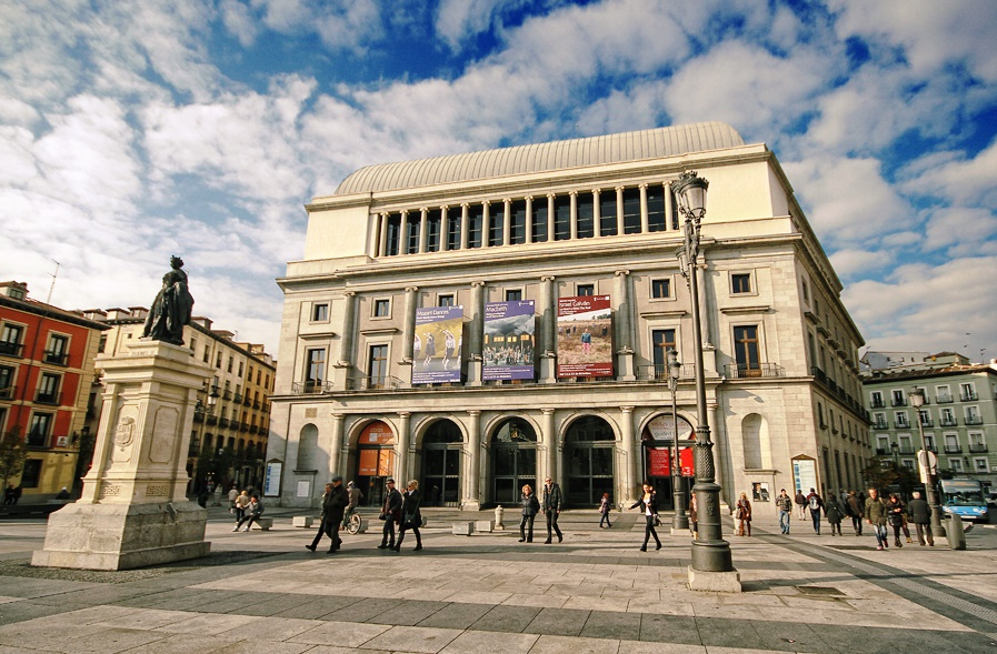 Semana de la Ópera en Madrid. Teatro Real