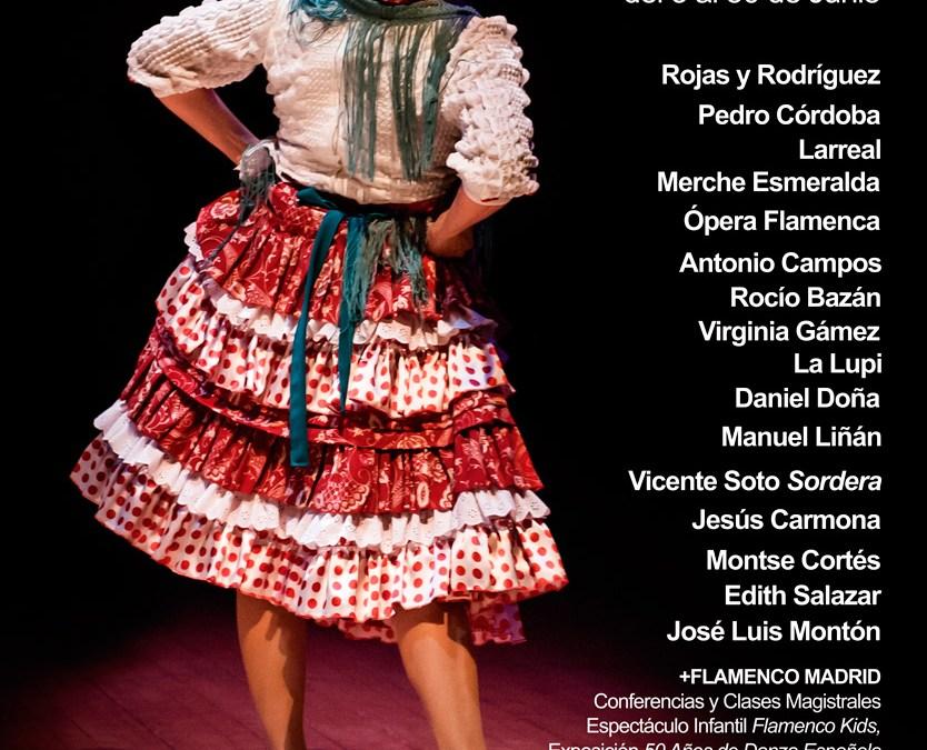 FLAMENCO MADRID 2015 en el Teatro Fernán Gómez