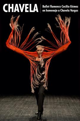 CHAVELA – Ballet flamenco Cecilia Gómez en homenaje a Chavela Vargas