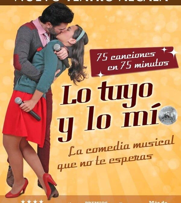 Lo Tuyo y Lo Mío, 75 canciones en 75 minutos en el Gran Teatro Bankia Príncipe Pío