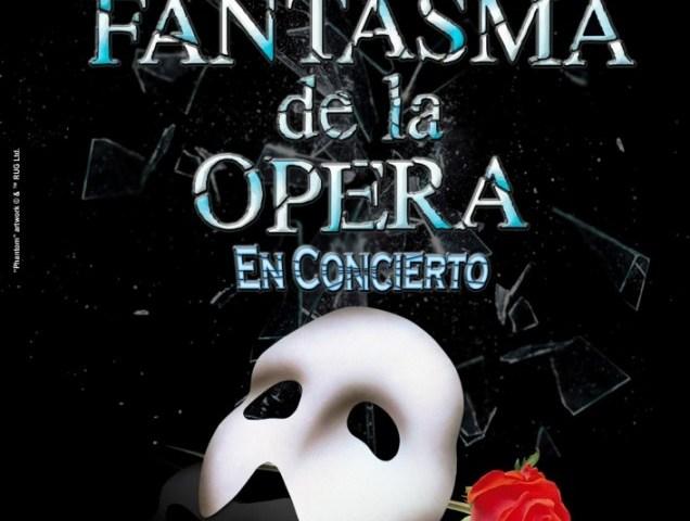 EL FANTASMA DE LA ÓPERA. EN CONCIERTO en el Teatro Compac Gran Vía