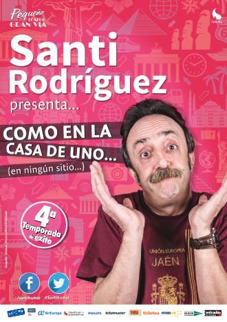 """Te invitamos a """"Como en la casa de uno – Santi Rodríguez""""(cerrado)"""