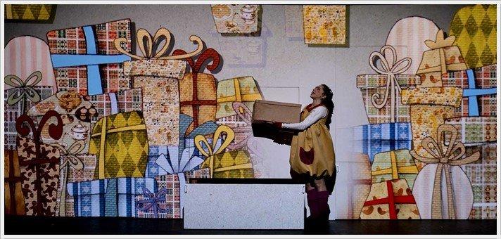 A LA LUNA en el Teatro Marquina