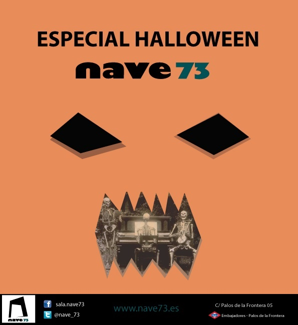 ESPECIAL HALLOWEEN en Nave 73
