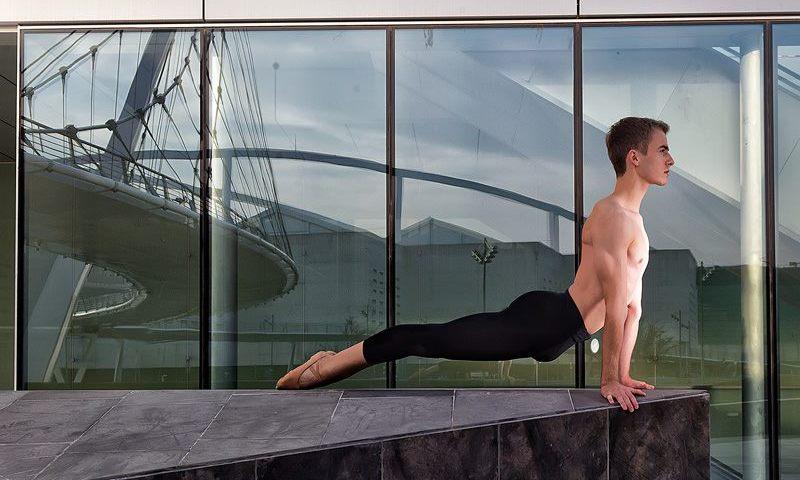 El joven bailarín Gonzalo Preciado Azanza hace historia