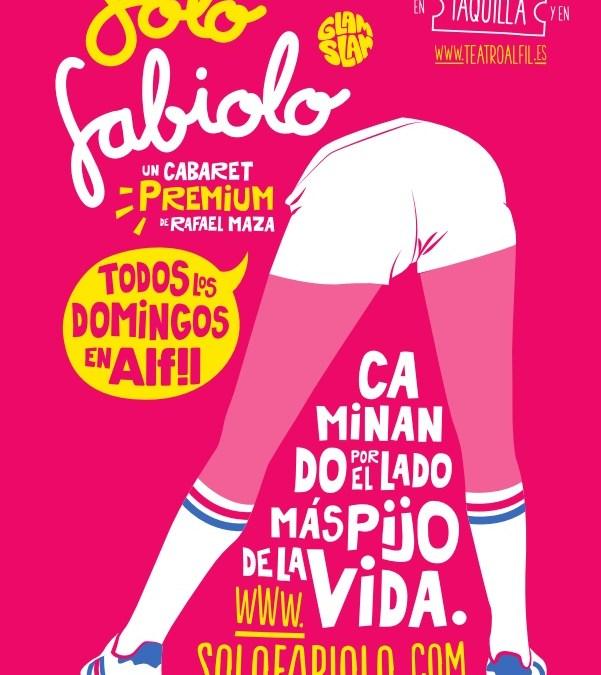Solo Fabiolo Glam Slam en el Gran Teatro Principe Pio