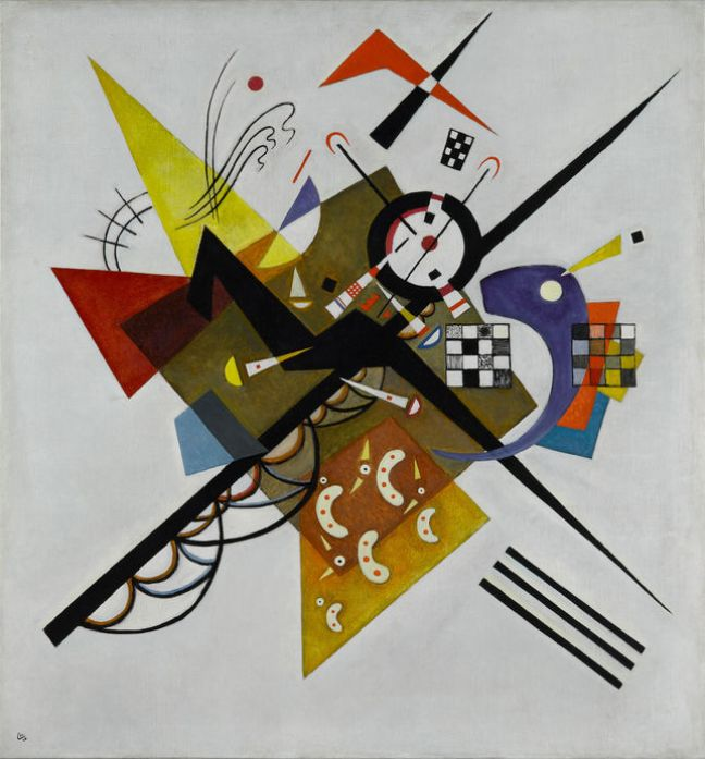 Auf Weiss II (Sur blanc II) | Vasili Kandinsky