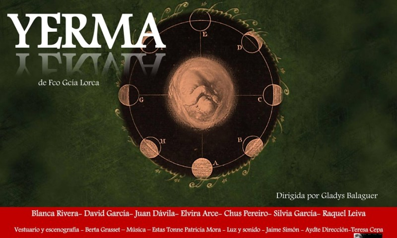 YERMA de la Compañía Ishtar Teatro en el Teatro Lara