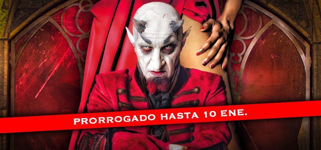 CABARET MALDITO prorroga su estancia en Madrid hasta el 10 de enero