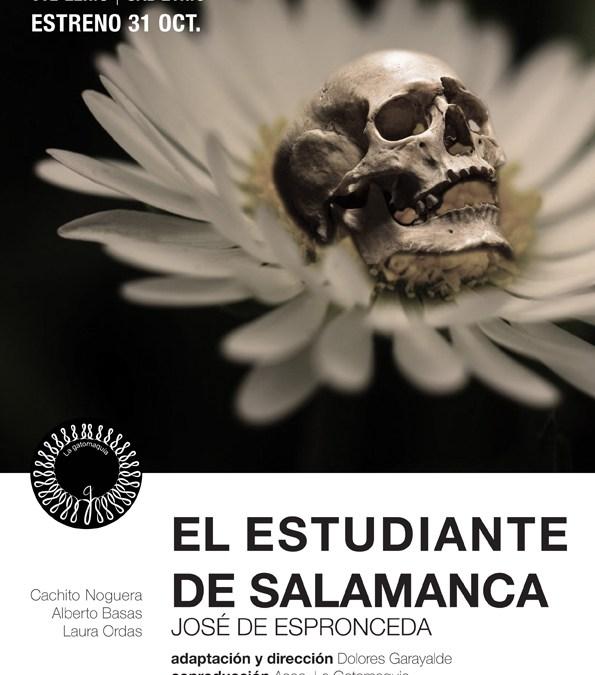 EL ESTUDIANTE DE SALAMANCA de José de Espronceda en La Gatomaquia