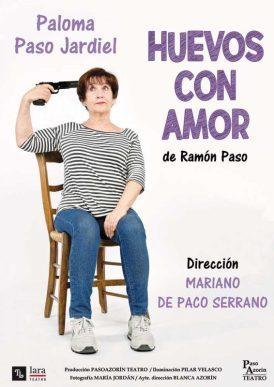 HUEVOS CON AMOR en el Teatro Lara