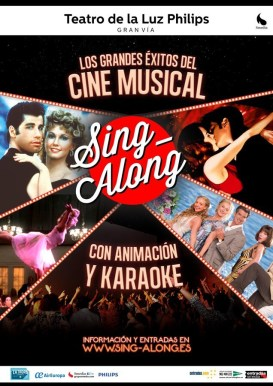 Programación de Sing Along en Madrid 2016.