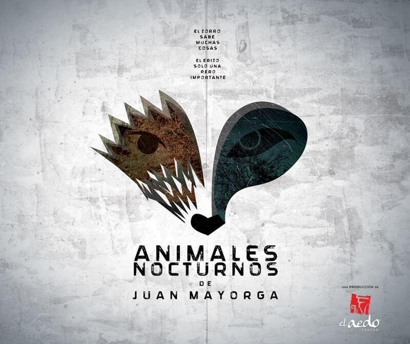 ANIMALES NOCTURNOS de Juan Mayorga