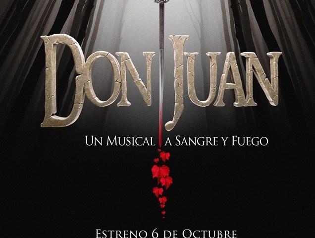 DON JUAN un musical a sangre y fuego en el Teatro de la Luz Philips Gran Vía