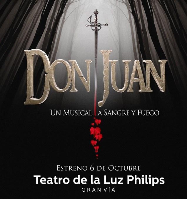 DON JUAN un musical a sangre y fuego, Teatro de la Luz Philips