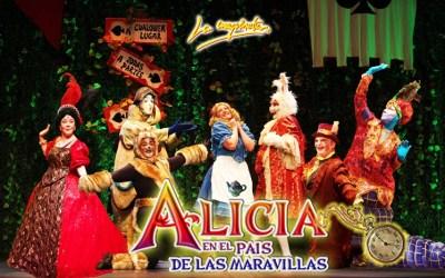 Alicia en el Pais de las Maravillas, el musical en el Teatro Quevedo