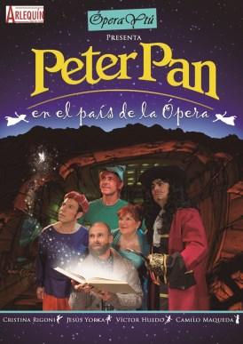 PETER PAN EN EL PAÍS DE LA ÓPERA en el Teatro Arlequín Gran Vía