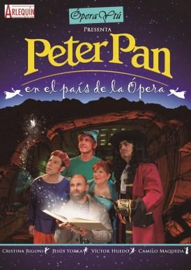 PETER PAN EN EL PAÍS DE LA ÓPERA en el Teatro Quevedo