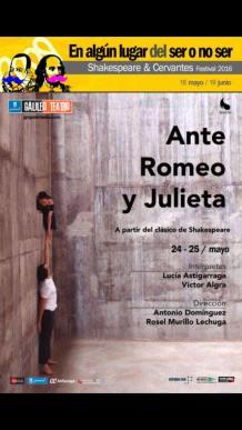 """Te invitamos a ver """"ANTE ROMEO Y JULIETA"""""""