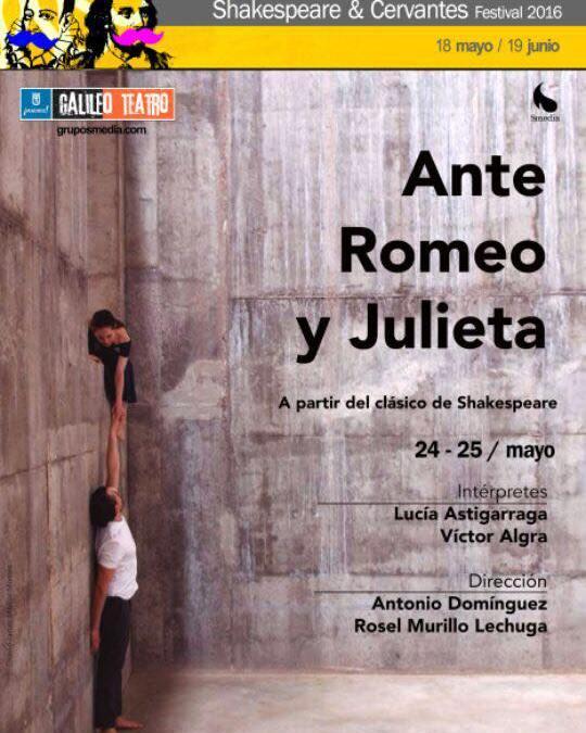 """Te invitamos a ver """"ANTE ROMEO Y JULIETA"""" (cerrado)"""