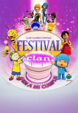 FESTIVAL CLAN EN EL TEATRO APOLO