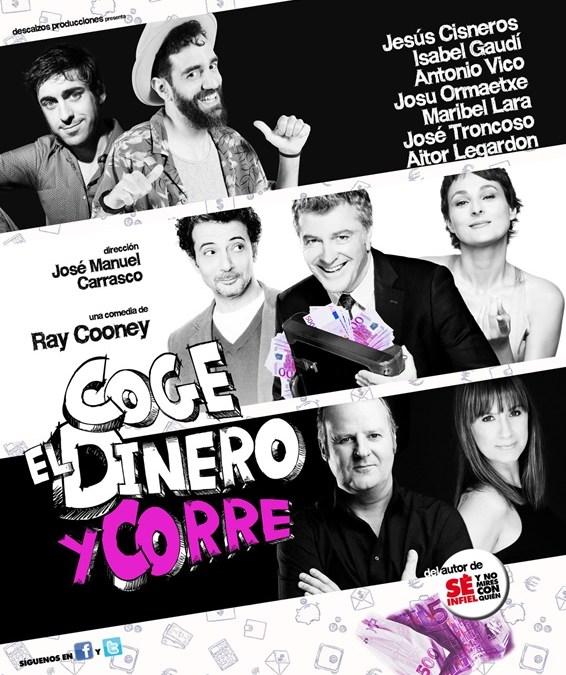 """Te invitamos a ver """"COGE EL DINERO Y CORRE"""" (cerrado)"""