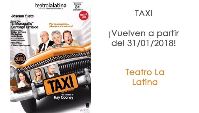 TAXI de Ray Cooney, con Josema Yuste en el Teatro La Latina