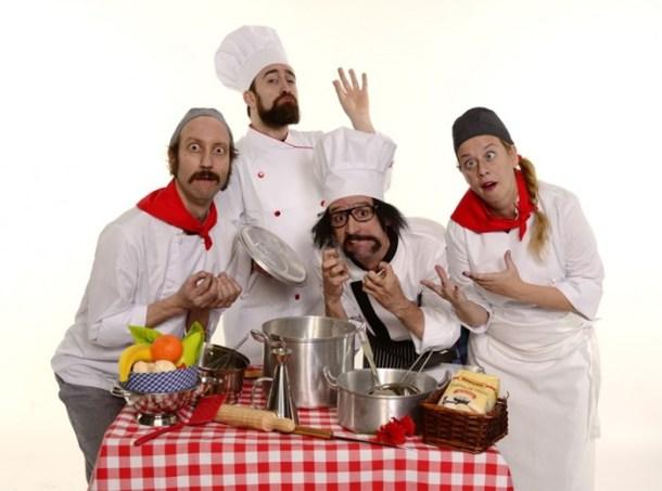 Chefs de Yllana en el Teatro Alfil