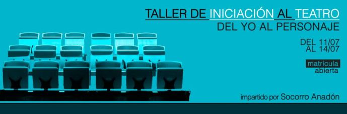 TALLER DE INICIACIÓN AL TEATRO