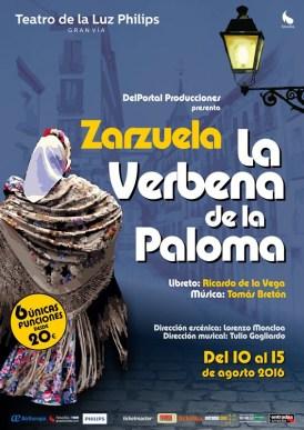 La verbena de la Paloma, Teatro de la Luz Philips