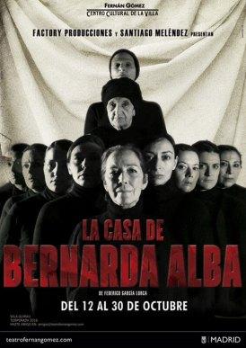 LA CASA DE BERNARDA ALBA en el Teatro Fernán Gómez