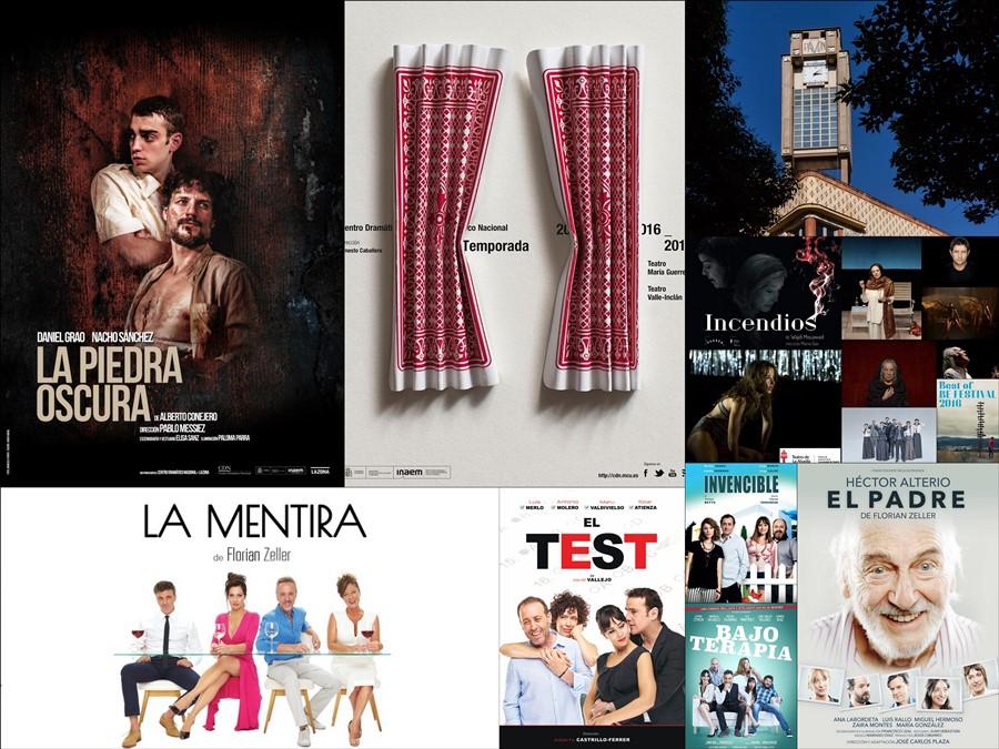 Todas las obras de la Temporada teatral 2016-2017